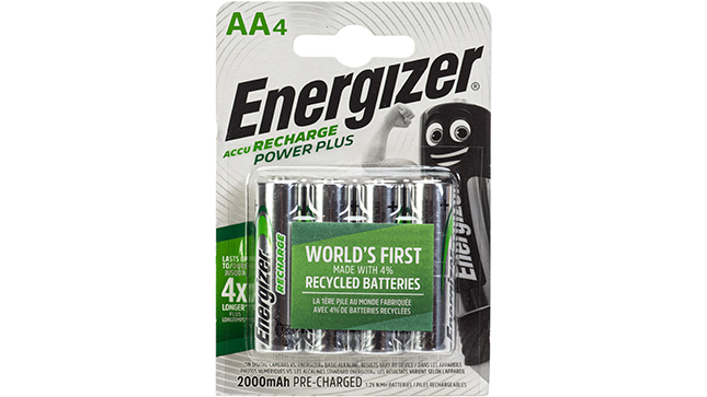 Recharge Power Plus AA