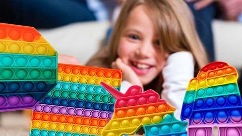Pop it speelgoed spelletje voor kinderen