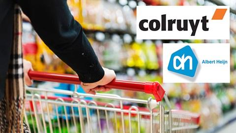 prijzen supermarkten colruyt Albert Hijn