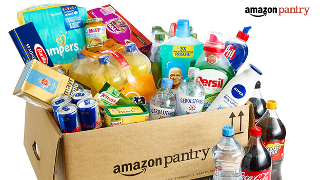Amazon Pantry levering boodschappen