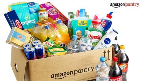 Amazon Pantry levering boodschappen