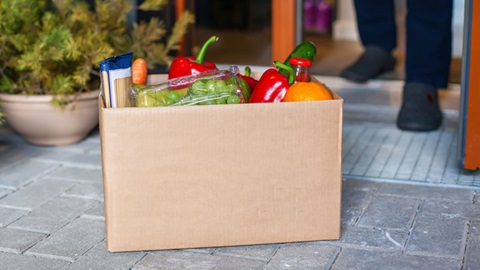 supermarkten thuislevering levering aan huis