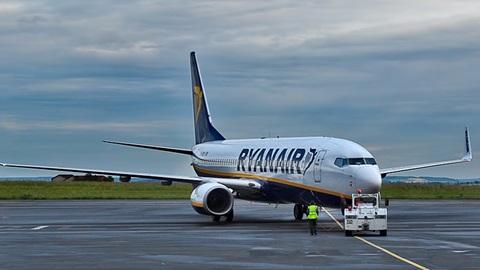 annulering Ryanair