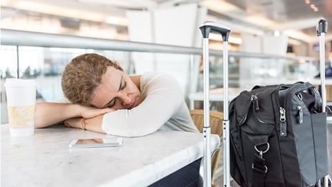 luchthaven bagage vertraging