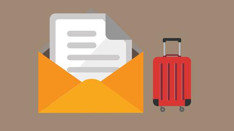 Standaardbrief reizen