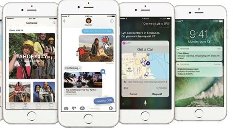 Wat zijn de nieuwigheden in iOS 10