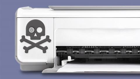printer te rap kapot
