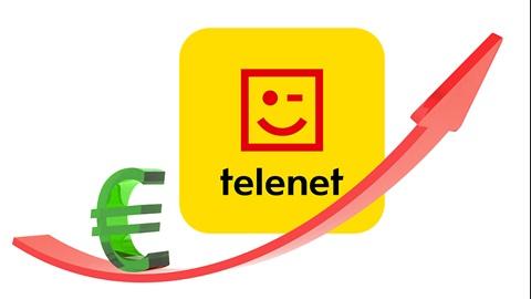 Een prijsverhoging bij Telenet voor Valentijn