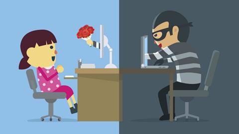 dating oplichterij