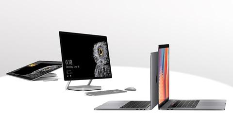 MacBook Pro Microsoft Surface Studio