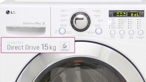 Wasmachine van LG voor 15 kilogram wasgoed, nuttig voor u?
