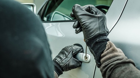 Diefstal in je autoverzekering?
