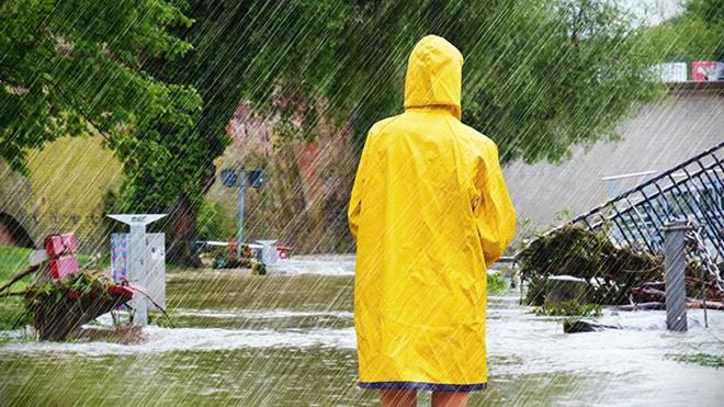 verzekerd voor woning bij overstroming