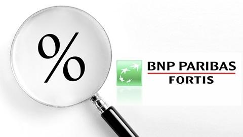Intrest valt weg op zichtrekeningen van BNP Paribas Fortis