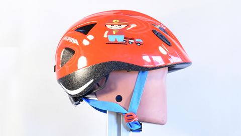 Bike helmet test