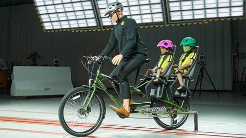 Crashtest Kinderzitjes op de fiets