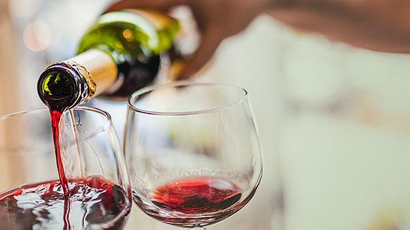 1 glas rode wijn calorieen