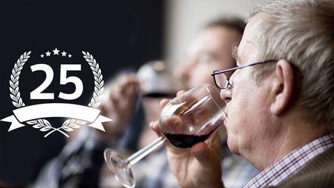 Wegwijs in wijn 25 jaar