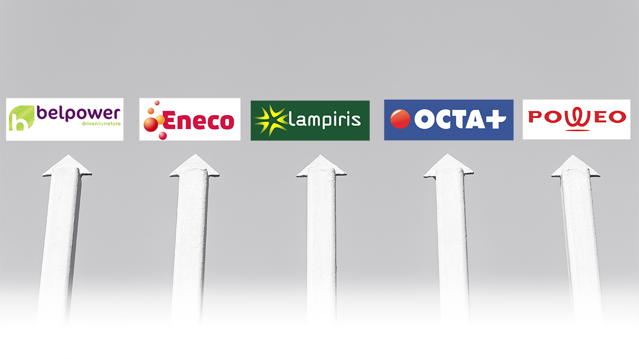 elektriciteit gas 5 partners