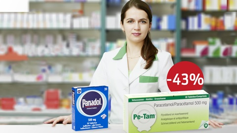 panadol Pe-tam prijs