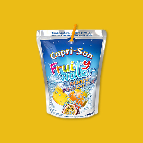 label capri sun fruity water