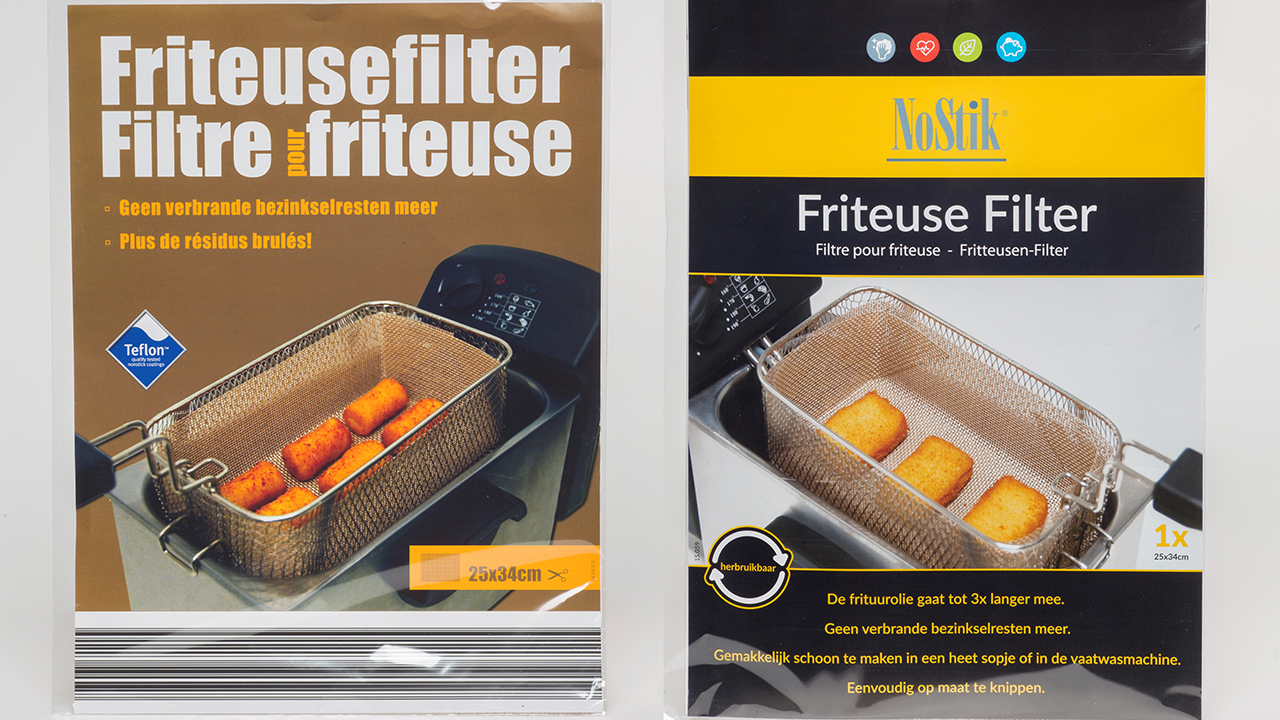 Filters voor friteuses
