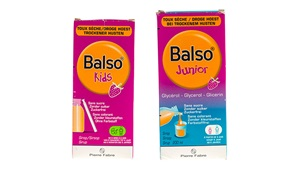 Balso Kids droge hoest