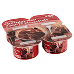 Carrefour - Zwarte chocolademousse
