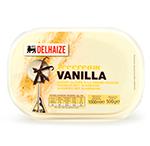 Delhaize - Ice cream vanilla